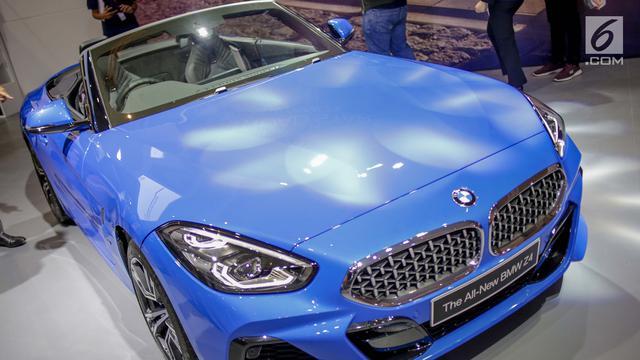 Melihat Mewahnya All New BMW Z4