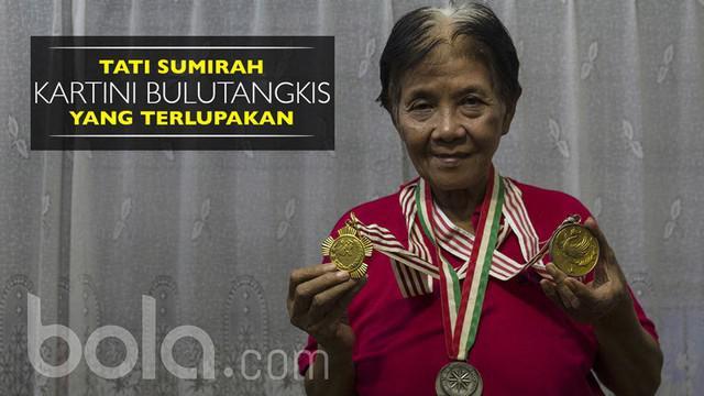 """Berita video wawancara dengan salah satu """"Kartini"""" di bulutangkis Indonesia yang terlupakan, Tati Sumirah."""
