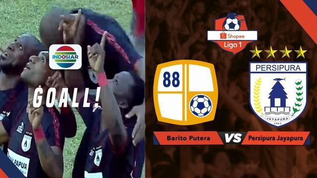 Berita video momen gol indah Tibo (Titus Bonai) dengan tendangan bebas untuk Persipura Jayapura saat menghadapi Barito Putera dalam lanjutan Shopee Liga 1 2019, Jumat (23/8/2019).