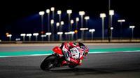 Aksi pembalap Federal Oil Gresini Moto2. (ist)