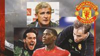 Manchester United - Paul Pogba, Les Sealey, Mark Hughes, Mark Bosnich (Bola.com/Adreanus Titus)