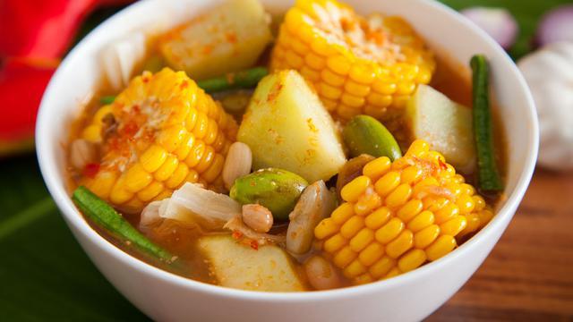 Bintang Ilustrasi Makanan Sayur Asem