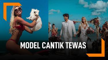 Model Cantik Tewas Saat Selamatkan Anjing