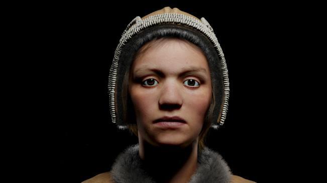 Perpaduan ilmu pengetahuan dan seni telah memungkinkan rekonstruksi 3D wajah-wajah dari puluhan ribu tahun lalu. (Sumber Visual Science)