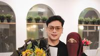 Potret manis Natta Reza dan Wardah Maulina. (Sumber: Instagram.com/natta_reza)