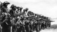 Ilustrasi Perang Inco-China I (AFP Photo)