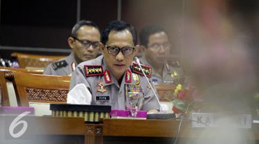 20160831- Kapolri Tito Karnavian Paparkan Paham Radikal di Komisi III-Jakarta- Johan Tallo