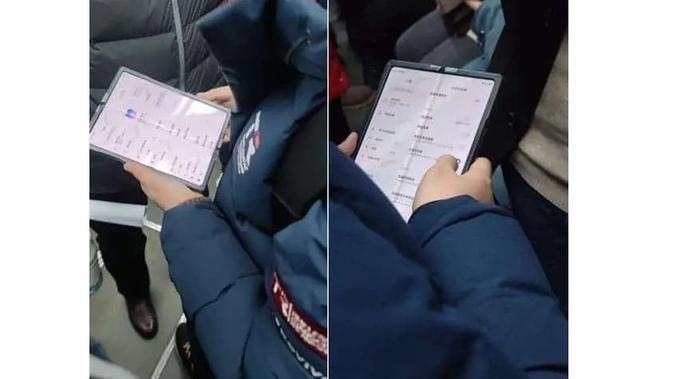 Smartphone layar lipat Xiaomi (Foto: Gizchina)