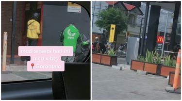 Tak Perlu Mengantre, Begini Suasana McD di Gorontalo saat BTS Meal Rilis