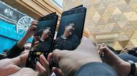 Oppo resmi perkenalkan smartphone Reno 10x Zoom. (Liputan6.com/ Andina Librianty)