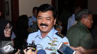 Marsekal Madya TNI Hadi Tjahjanto. (Liputan6.com/Helmi Fithriansyah)