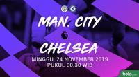 Premier League - Manchester City Vs Chelsea (Bola.com/Adreanus Titus)