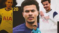 Tottenham Hotspur - Dele Alli (Bola.com/Adreanus Titus)