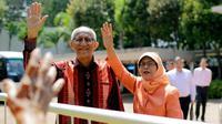 Presiden Singapura terpilih, Halimah Yacob ternyata tetap ingin tinggal di rumah susuhnya di Yishun, Singapura. Bagaimana kehidupannya?  (AP Photo/Wong Maye-E)