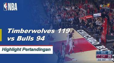 Karl-Anthony Towns menjatuhkan 20 poin dan meraih 20 papan dan Derrick Rose menambah 24 untuk kemenangan T-Wolves 119-94