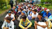 Menurut aturan, nelayan Vietnam yang terjerat kasus pencurian ikan, termasuk di wilayah Natuna, tidak dikenakan kurungan badan. (dok. Batamnews.co.id)