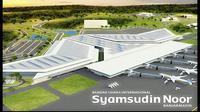 Peletakan batu pertama (groundbreaking) bandara ini diresmikan langsung Wakil Presiden (Wapres) Jusuf Kalla, pada Senin (18/5/2015).