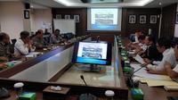 Audiensi Wali Kota Tangerang Arief R Wismansyah dengan Kementerian PUPR terkait revitalisasi Pasar Anyar dan Pasar Lama Kota Tangerang. (Liputan6.com/Pramita Tristiawati)