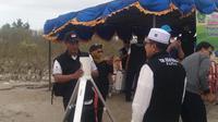 Pemantauan Hilal di Merauke, Papua. (Liputan6.com/Kementrian Agama Papua/Katharina Janur)