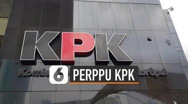 Setidaknya 3 tokoh negara menolak Presiden Jokowi menerbitkan Perppu KPK.