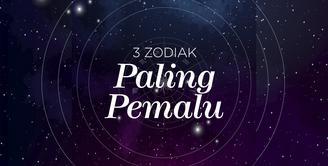 3 Zodiak Paling pemalu