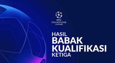 Berita motion grafis hasil kualifikasi Liga Champions babak ketiga, Dynamo Kyiv kalahkan AZ Alkmaar.