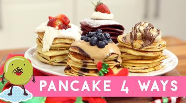 Pancakes 4 Rasa, Sarapan Seru Pembawa Keceriaan di Hari Minggu