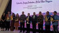 "Talkshow Collaborative Destination Development (CDD) bertema ""Explore The Amazing Destination at East Nusa Tenggara"" di Aston Hotel & Convention Center, Kupang, Selasa (11/12/2018). (Istimewa)"