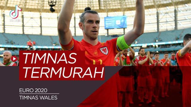 Berita video TikTok Bola.com kali ini membahas tentang lima Ttmnas termurah di Euro 2020, termasuk timnya Gareth Bale.