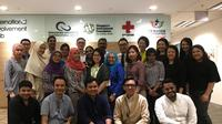 Jurnalis asal Indonesia dan India yang mengikuti kegiatan komunitas bina masyarakat atas undangan Singapore International Foundation (SIF). (Ist)