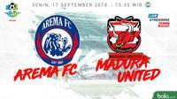 Liga 1 2018 Arema FC Vs Madura United (Bola.com/Adreanus Titus)