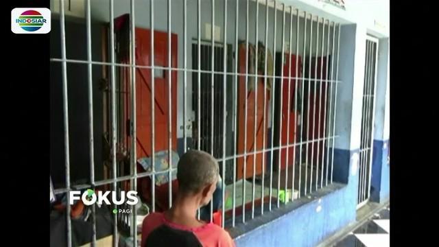 11 penghuni Rutan Kelas II B Takengon, Aceh Tengah, kabur menggunakan kain sarung yang disambung.