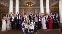 Foto Keluarga Kerajaan Swedia pada Mei 2017. (Sumber AP Photo/Tahta Kerajaan Norwegia via NTB scanpix)