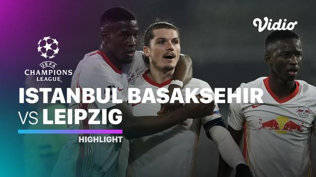 Berita video, RB Leipzig berhasil kalahkan Instabul Basaksehir di matchday kelima Grup H Liga Champions 2020/2021