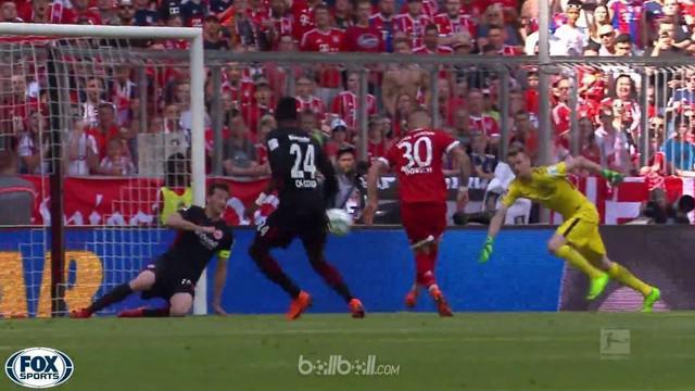 Berita video Bayern Munchen yang mudah menang di Bundesliga 2017-2018 dan kali ini atas Eintracht Frankfurt. This video presented by BallBall.
