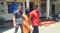 Z (19), remaja mamuju yang dilaporkan ke polisi usai menyetubuhi kekasihnya (Abdul Rahab Umar/Liputan6.com)
