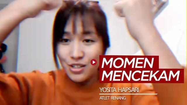 Berita video ngobrol lagi bareng atlet cantik dari dunia renang, Yosita Hapsari, soal momen dekat dengan kematian saat di Hotel Ambacang, Padang, pada 2009.