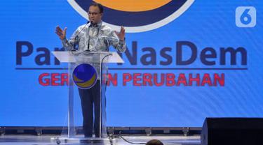 Anies Baswedan Hadir di Pembukaan Kongres II Partai Nasdem
