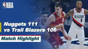 Berita Video Highlights NBA, Portland Trail Blazers Tumbang di Kandang Denver Nuggets (24/2/2021)