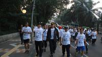 Mandiri Bhayangkara Bogor Batik Run 2019 yang digelar Minggu (14/7/2019) pagi.