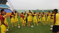 Sriwijaya FC bersiap latihan