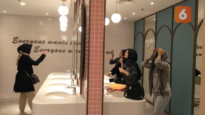 Toilet Estetis Di Mal Yang Bikin Foto Foto Makin Asyik Lifestyle Liputan6 Com