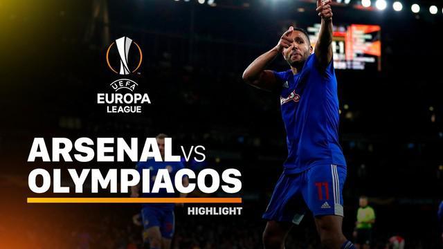 Berita Video Highlights Liga Europa, Arsenal Tersingkir Usai Dikalahkan Olympiacos 1-2