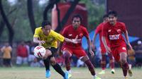 PSM Makassar dalam persiapan menuju Liga 1 2021/2022. (Bola.com/Abdi Satria)