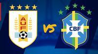 Laga Persahabatan Internasional: Uruguay vs Brasil. (Bola.com/Dody Iryawan)