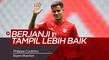 Philippe Coutinho Berjanji akan Tampil Lebih Baik di Bayern Munchen