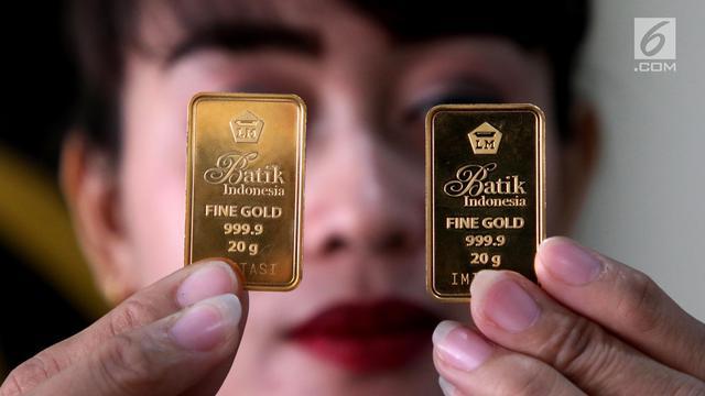 Harga Emas Antam Lebih Murah Rp 4000 Per Gram Bisnis Liputan6com