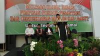 Para Ulama, Habis dan Pimpinan Pondok pesantren di Garut sepakat untuk menolak people power yang berpotensi merongrong pemerintahan yang sah (Liputan6.com/Jayadi Supriadin)