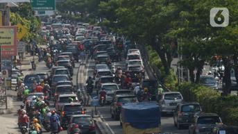 FOTO: Ganjil Genap Bakal Diberlakukan di Margonda Depok