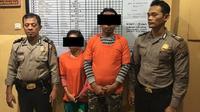Pasangan suami istri di Kota Medan kompak melakukan pencurian barang jemaah di beberapa masjid. (Liputan6.com/ Reza Perdana)